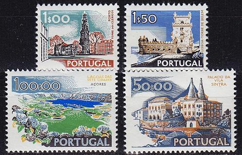 PORTUGAL [1972] MiNr 1156-58 xI ( **/mnh ) CTT 1972