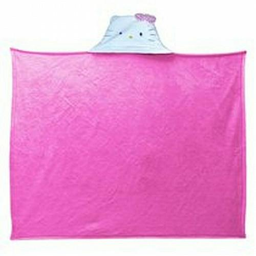 New Sanrio Hello Kitty Hold Me 40x50 Hooded Throw Blanket free shipping
