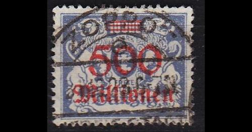 GERMANY REICH Danzig [1923] MiNr 0176 ( OO/used ) [01]