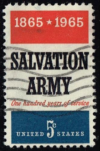 US #1267 Salvation Army; Used (3Stars) |USA1267-02