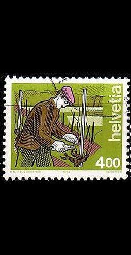 SCHWEIZ SWITZERLAND [1994] MiNr 1523 ( O/used ) Berufe