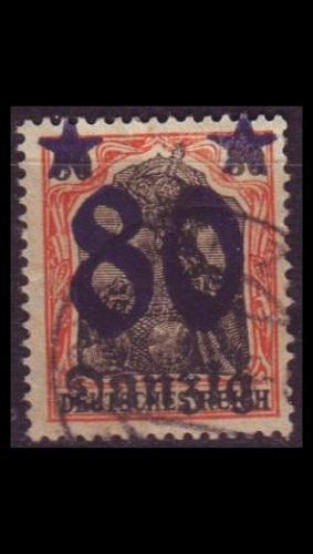 GERMANY REICH Danzig [1920] MiNr 0020 ( OO/used )