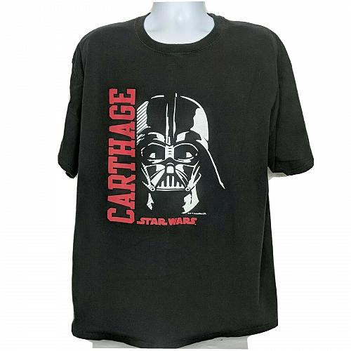 Star Wars Darth Vader Champion Carthage T-Shirt XXL Black Short Sleeve