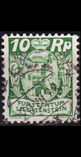 LIECHTENSTEIN [1925] MiNr 0068 ( O/used )