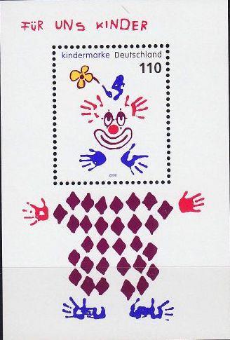 GERMANY BUND [2000] MiNr 2134 Block 53 ( **/mnh )