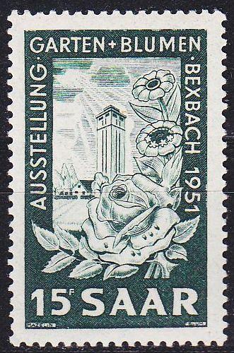 GERMANY Saar [1951] MiNr 0307 ( **/mnh )