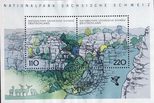 GERMANY BUND [1998] MiNr 1997-98 Block 44 ( O/used ) [01] Natur Sonder-O