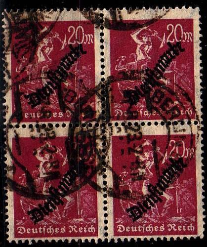 GERMANY REICH Dienst [1923] MiNr 0075 ( O/used ) [01]