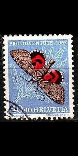 SCHWEIZ SWITZERLAND [1957] MiNr 0652 ( O/used ) Pro Juventute