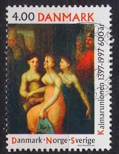 DÄNEMARK DANMARK [1997] MiNr 1153 ( O/used ) Gemälde
