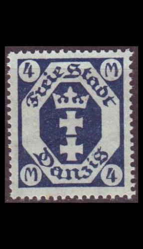 GERMANY REICH Danzig [1922] MiNr 0098 ( **/mnh )
