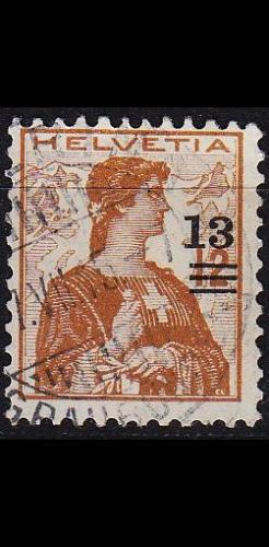 SCHWEIZ SWITZERLAND [1915] MiNr 0125 ( O/used )