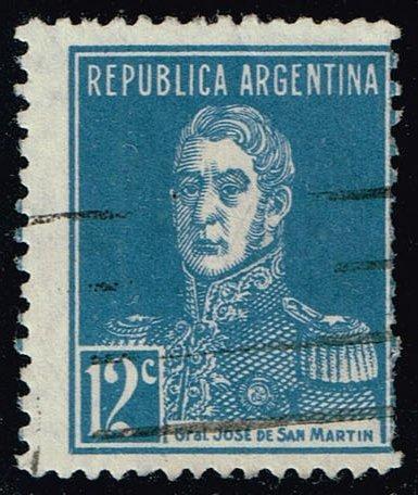 Argentina #347 Jose de San Martin; Used (0.30) (1Stars) |ARG0347-03XBC