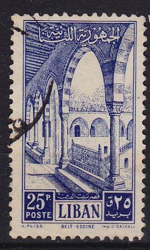 LIBANON LEBANON LIBAN [1954] MiNr 0507 ( O/used )
