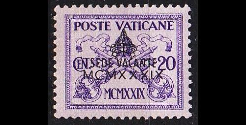 VATIKAN VATICAN [1939] MiNr 0075 ( O/used )