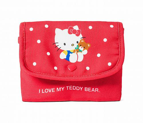 New Hello Kitty 45th Anniversary Tissue wallet Case Free Shipping