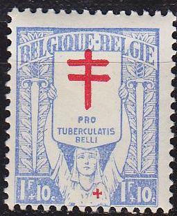 BELGIEN BELGIUM [1925] MiNr 0206 ( */mh )