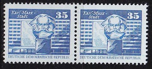 GERMANY DDR [1980] MiNr 2506 v 2er ( **/mnh )