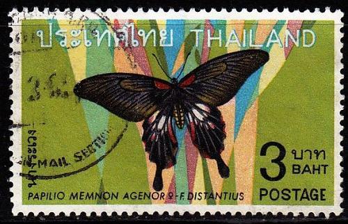 THAILAND [1968] MiNr 0527 ( O/used ) Schmetterlinge