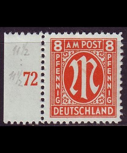 GERMANY Alliiert AmBri [1945] MiNr 0021 D ( **/mnh )