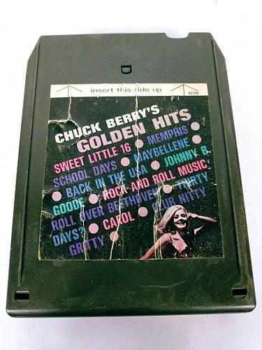 Chuck Berry Chuck Berry's Golden Hits (8-Track Tape, MC-8 61103)
