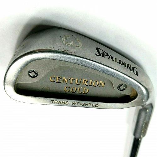 Spalding Centurion Gold 3 Iron Right Hand Flex Steel Golf Club