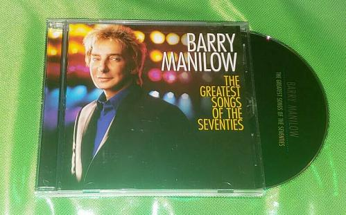 Vintage Barry Manilow Greatest Hits Of The 70s Compact Disc Nmnt