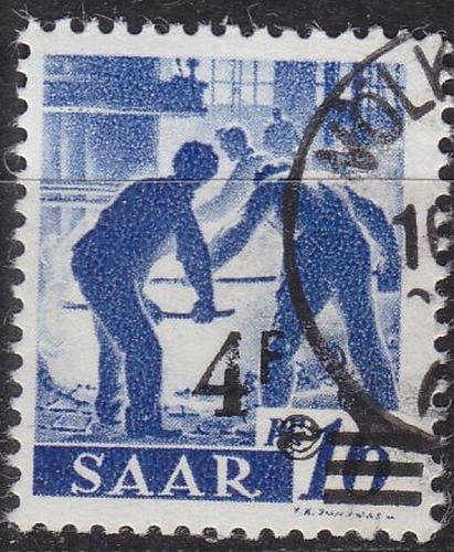GERMANY Saar [1947] MiNr 0231 II ( O/used )