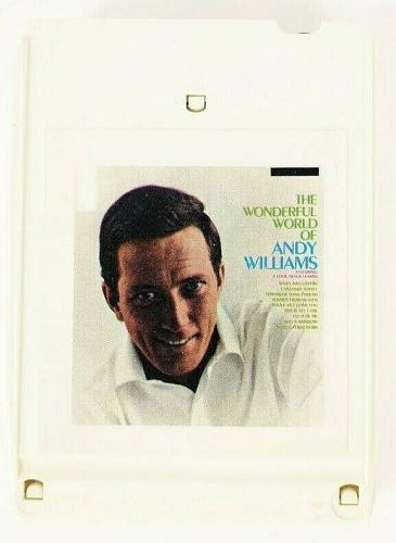 The Wonderful World Of Andy Williams (8-Track Tape, LEA 10001)
