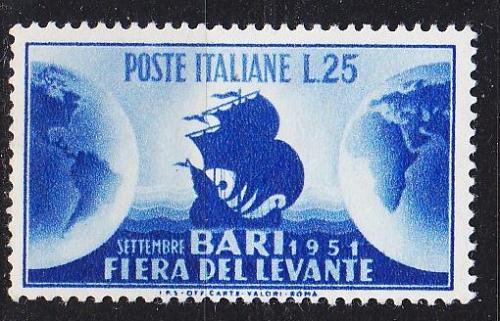 ITALIEN ITALY [1951] MiNr 0843 ( **/mnh )