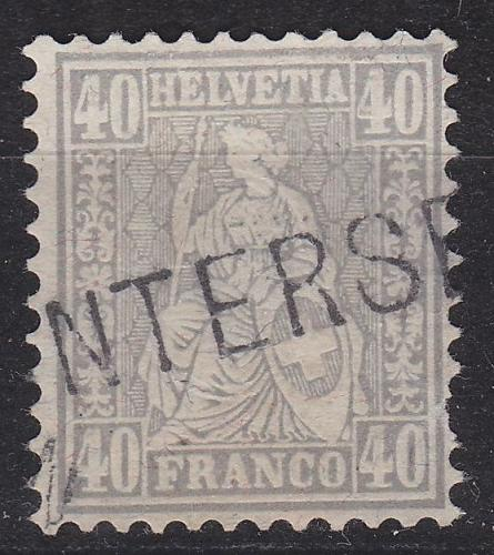SCHWEIZ SWITZERLAND [1881] MiNr 0042 ( O/used ) [01]