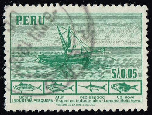 Peru **U-Pick** Stamp Stop Box #158 Item 64  USS158-64