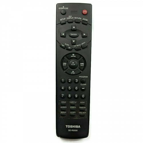 Genuine Toshiba DVD Remote Control SE-R0056 Tested Working
