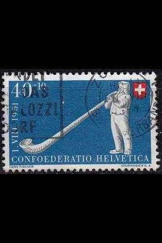 SCHWEIZ SWITZERLAND [1951] MiNr 0559 ( O/used ) [02] Pro Patria