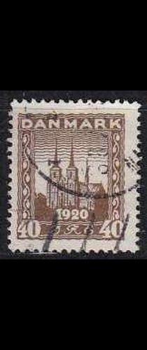DÄNEMARK DANMARK [1920] MiNr 0112 ( O/used ) Architektur
