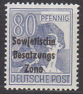 GERMANY Alliiert SBZ [Allgemein] MiNr 0196 ( **/mnh )