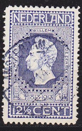NIEDERLANDE NETHERLANDS [1913] MiNr 0085 B ( O/used )