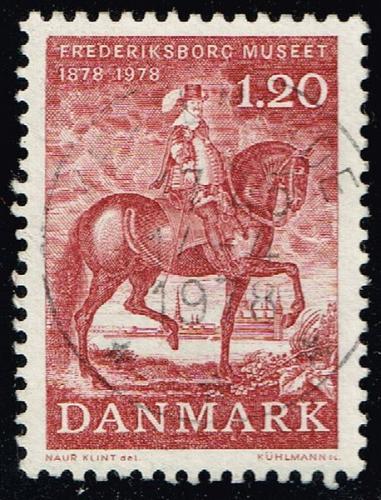 Denmark #612 Christian IV; Used (4Stars) |DEN0612-01XBC