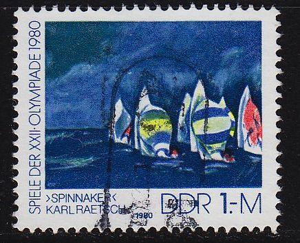 GERMANY DDR [1980] MiNr 2531 ( OO/used ) Olympiade