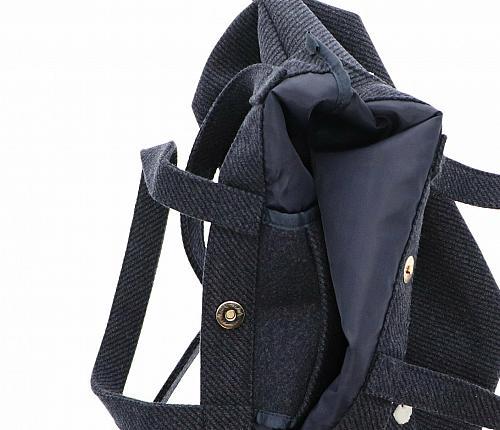 New Hello Kitty Cinnamoroll 2-Way Tote Bag: Logo Sanrio Free Shipping