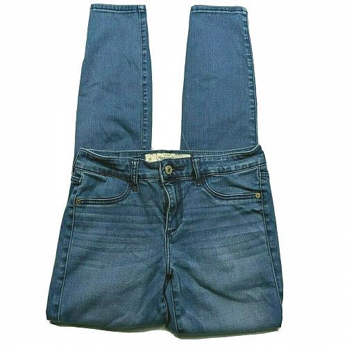 Abercrombie & Fitch Womens Skinny Jeans Size 2R Medium Wash Denim Stretch