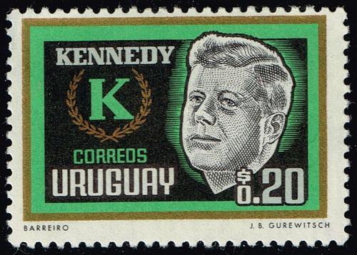 Uruguay **U-Pick** Stamp Stop Box #158 Item 98 |USS158-98