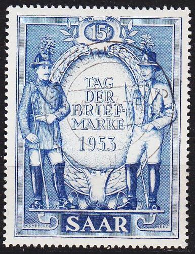 GERMANY Saar [1953] MiNr 0342 ( O/used )