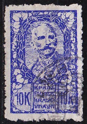 JUGOSLAVIA [1919] MiNr 0112 ( O/used )