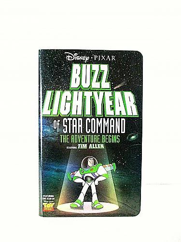 Buzz Lightyear of Star Command The Adventure Begins VHS Disney Pixar (#vhp)