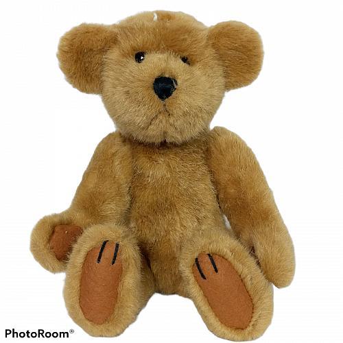 "Jungle Joe's Safari Friends Brown Teddy Bear Plush Stuffed Animal 8.5"""
