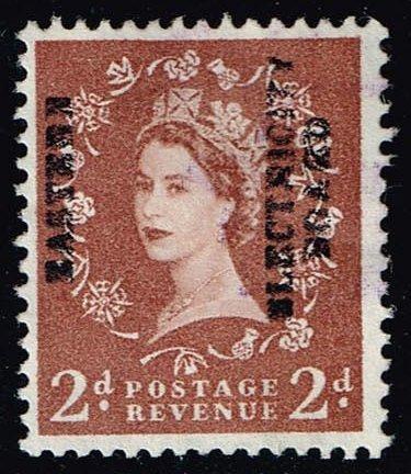 Great Britain #356 Queen Elizabeth II; Used (0.25) (3Stars) |GBR0356-06XVA