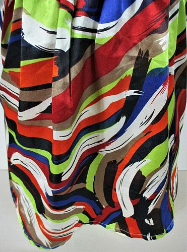 CHARLOTTE RUSSE womens Small sleeveless multicolor BROACH halter top NWT (M)P