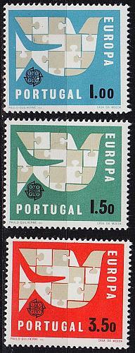 PORTUGAL [1963] MiNr 0948-50 ( **/mnh ) CEPT