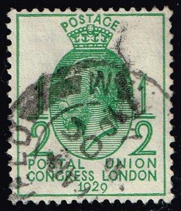 Great Britain #205 King George V; Used (2.50) (3Stars)  GBR0205-03XVA